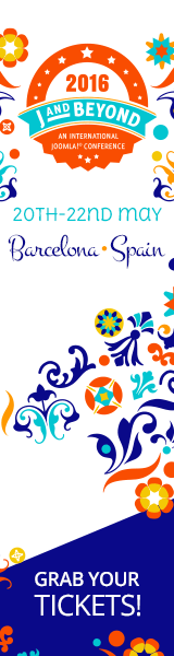 J and Beyond 2016 | An International Joomla! Conference - May 20 - 22, 2016, Barcelona, Spain