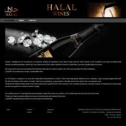 Creación web de página marca de vinos sin alcohol