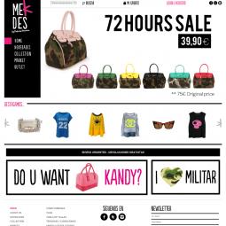 Sitio web de venta online de moda Mekdes