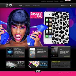 Web de venta online de accesorios de telefonía móvil