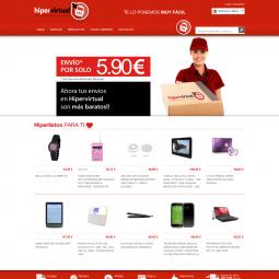 Web de venta online de productos de múltiples marcas